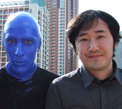 Blue Man Group in tokyo3